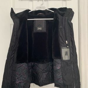 TNA black winter jacket
